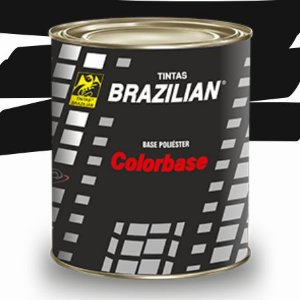 BASE POLIESTER PRETO VULCANO BPL FIAT 2001 900ml - BRAZILIAN