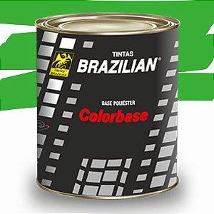 BASE POLIESTER VERDE ROMA PEROLIZADO FORD 97 900ml - BRAZILIAN