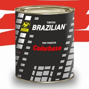 BASE POLIESTER VERMELHO FLASH BPL VW 97 900ml - BRAZILIAN
