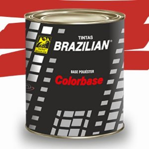 BASE POLIESTER VERMELHO VIVO BPL RENAULT 09 900ml - BRAZILIAN