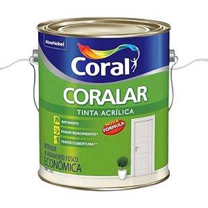 TINTA ACRÍLICA BRANCO 3,6L - CORALAR