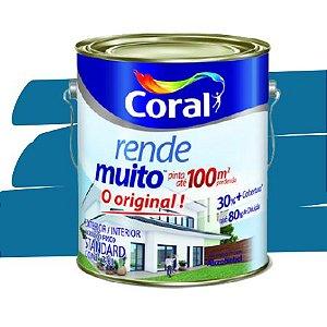 TINTA ACRÍLICA RENDE MUITO AZUL PROFUNDO 3,6L - CORAL