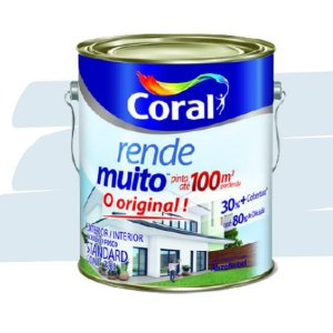 TINTA ACRÍLICA RENDE MUITO AZUL SERENO 3,6L - CORAL
