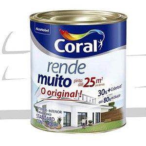 TINTA ACRÍLICA RENDE MUITO BRANCO 900ml - CORAL