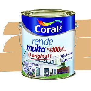 TINTA ACRÍLICA RENDE MUITO CROMO SUAVE 3,6L - CORAL