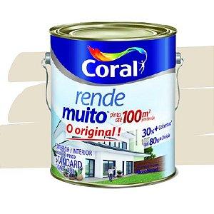 TINTA ACRÍLICA RENDE MUITO PALHA 3,6L - CORAL
