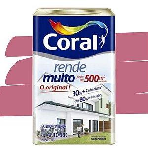 TINTA ACRÍLICA RENDE MUITO ROSA ACAÍ 18L - CORAL