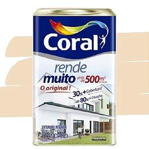 TINTA ACRÍLICA RENDE MUITO VANILA 18L - CORAL