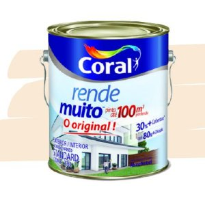 TINTA ACRÍLICA RENDE MUITO VANILA 3,6L - CORAL