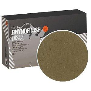 DISCO SOFT D150 15F RHYNOFINISH RED P800 - INDASA