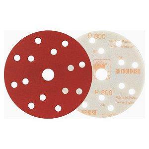 DISCO SOFT D150 15F RHYNOFINISH RED P360 - INDASA
