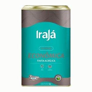TINTA ACRÍLICA ECONÔMICA TERRA COTA 18L - IRAJÁ