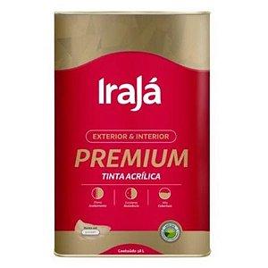 TINTA ACRILICA PREMIUM BRANCO NEVE 18L - IRAJA