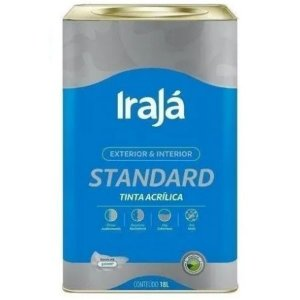 TINTA ACRILICA STANDARD BRANCO NEVE 60% DILUICAO 18L - IRAJA