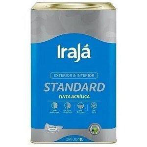 TINTA ACRILICA STANDARD VERDE PRIMAVERA 18L - IRAJA