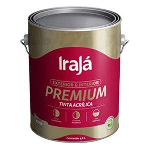 TINTA ACRILICA PREMIUM BASE P 900ml - IRAJA