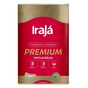 TINTA ACRILICA PREMIUM BASE T 16,2L - IRAJA