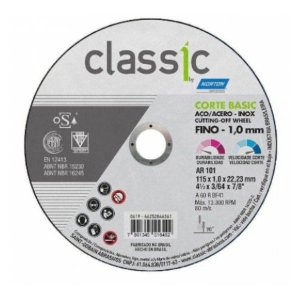 DISCO CORTE T41 CLASSIC BASIC 115X1.0X22 - NORTON