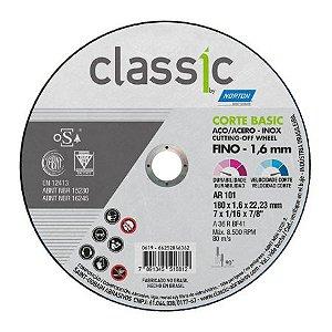 DISCO DE CORTE INOX BASIC 7X1,6X7/8 - NORTON