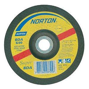 DISCO DESBASTE BDA 640 7X1/4X7/8 - NORTON