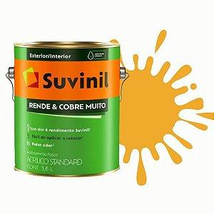 TINTA ACRÍLICA RENDE COBRE MUITO AMARELO OURO 3,6L - SUVINIL
