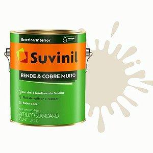 TINTA ACRÍLICA RENDE COBRE MUITO AREIA 3,6L - SUVINIL