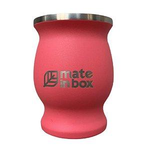 Cuia Térmica Guayrá Rosa 250ml - Mate in Box