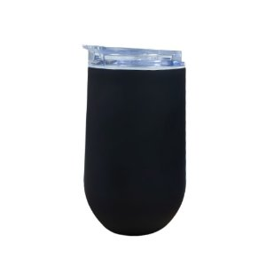 Copo Térmico Preto Belli All Black 450ml Mokha