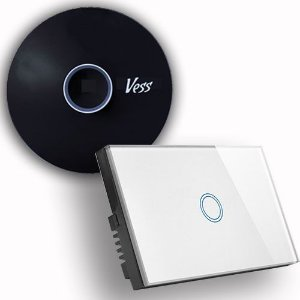 Kit Base Vess Home-pro + Interruptor Softtouch - 1 Tecla