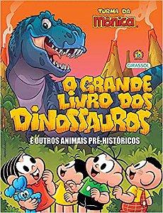 Turma da Mônica grande livro dos dinossauros