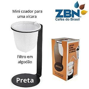 PRESSCA MINI COADOR DE CAFÉ PARA UMA XÍCARA - PRETA