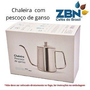 PRESSCA CHALEIRA PESCOÇO DE GANSO BICO FINO - 600ml