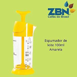 PRESSCA ESPUMADOR DE LEITE 100ml - AMARELO