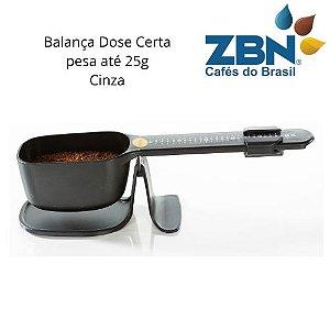 PRESSCA BALANÇA DOSADORA PARA CAFÉ OU CHÁ ATÉ 25g- CINZA