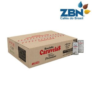 AÇUCAR REFINADO EM SACHE CARAVELAS 5g - CX/1000un