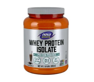 WHEY PROTEIN ISOLATE CHOCOLATE 1.8LBS/816 - NOW FOODS