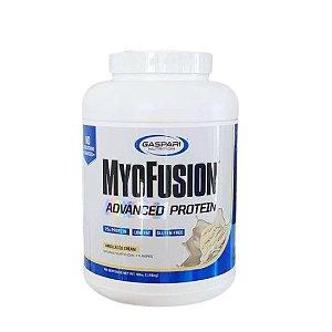 *MYOFUSION ADVANCED 4LBS (1.810KG) VANILLA ICE - GASPARI NUTRITION