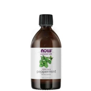 Óleo Essencial Peppermint (Hortelã-Pimenta) 473ml  100% Puro NOW FOODS
