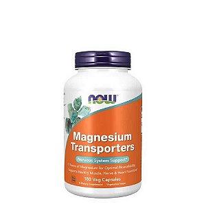 Magnesio Transporters 120mg  180 Cápsulas - NOW FOODS