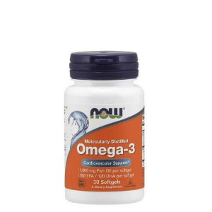 Omega 3  1000mg  30 Caps - NOW SPORTS