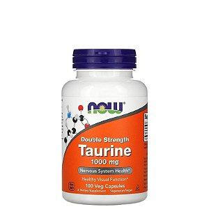 Taurine 1000mg 100 Caps - NOW SPORTS