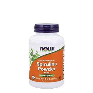 SPIRULINA POWDER 113G - NOW SPORTS - Day Offer