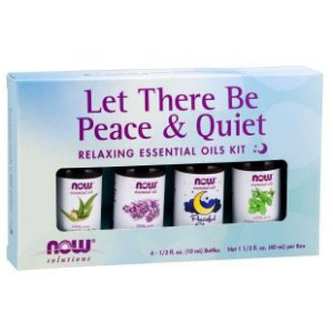 Kit Óleo Essencial - Relaxante -Let There Be Peace & Quiet - NOW FOODS
