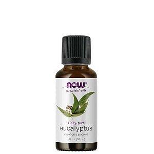Óleo Essencial Eucalyptus (Eucaliptus) 30 ml - 100% Puro - NOW FOODS
