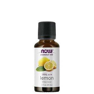Óleo Essencial Lemon (Limão) 30 ml - 100% Puro - NOW FOODS