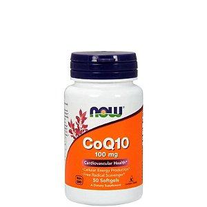 Coenzima COQ10 100mg - 50 capsulas NOW FOODS