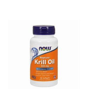 KRILL OIL 500MG - 60 CAPSULAS  - NOW FOODS   Day Offer