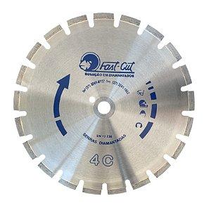Disco Diamantado Serra Concreto Asfalto 350mm