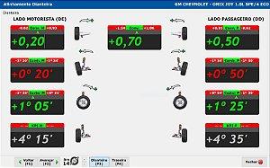 Softeck FC - Sistema de alinhamento com banco de dados nacional