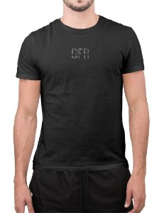 T-shirt GFR Anitta Círculo Preta